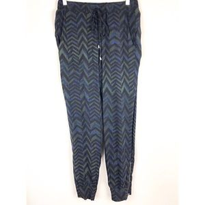 🆕 Splendid | Chevron Print Ankle Zipper Joggers